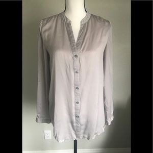 DKNY Beautiful Champagne Colored Blouse Worn Once